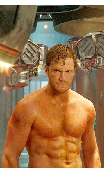 Chris Pratts Guardians of the Galaxy workout  Damn dude! He did a great job getting in shape for this movie!