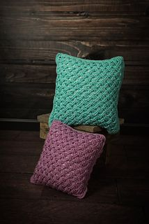 Celtic Weave Pillow Cover pattern by Two Brothers Blankets