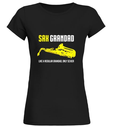Mens Saxophone Grandad Shirt, Funny Cute Marching Band Gift Saxophone T-shirt