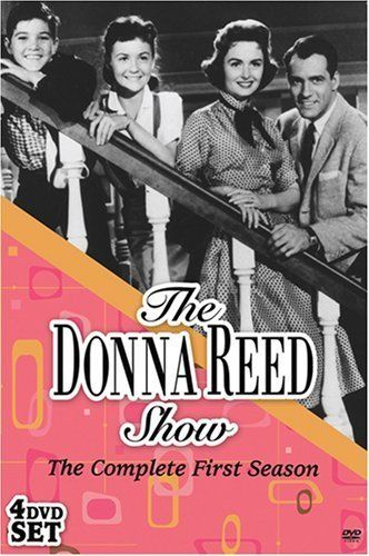The Donna Reed Show (1958).  Donna always cooked and cleaned house in a skirt with high heels.  What's up with that?