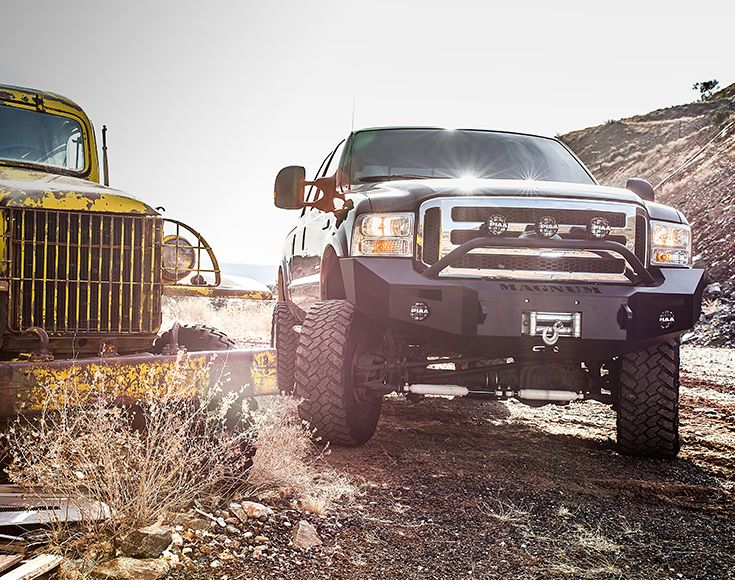 ICI Magnum Front Bumpers - Crafted for off-roaders by off-roaders right here in the USA