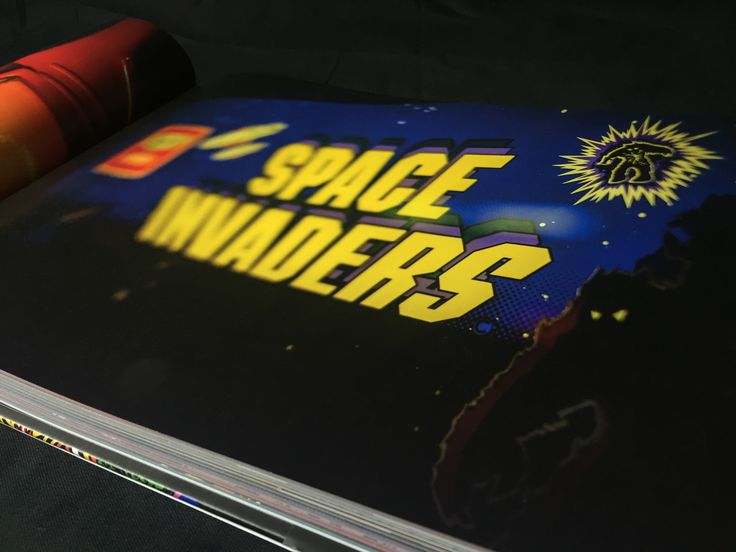 Space Invaders - Book available here: http://www.funstockretro.co.uk/artcade-classic-arcade-game-art-book