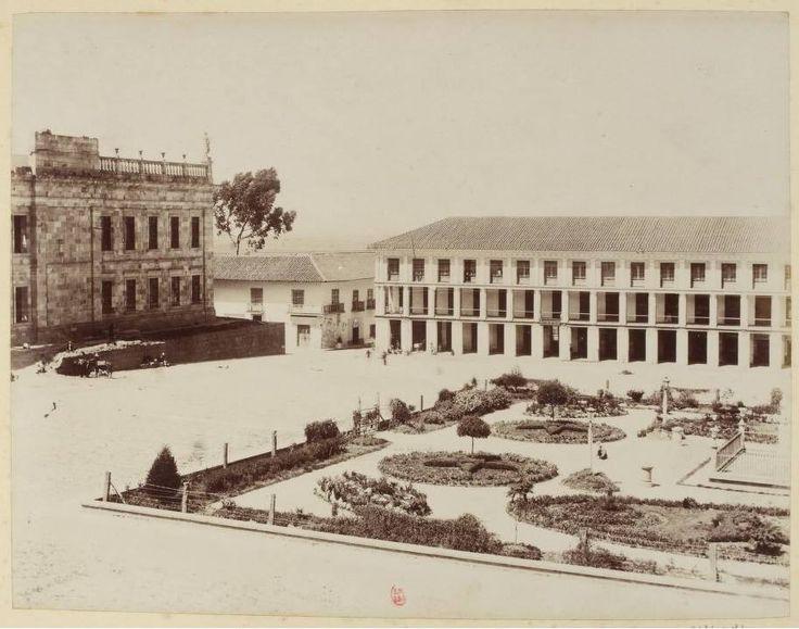 Plaza de Bolivar 1870