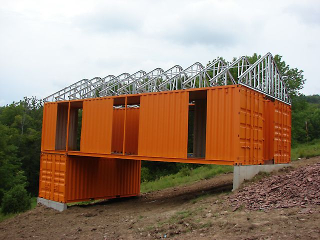 Container Roof Truss Amp Shipping Container Dimensions