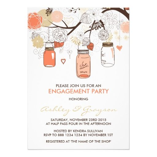 The 25+ best Engagement invitation online ideas on Pinterest - how to word engagement party invitations