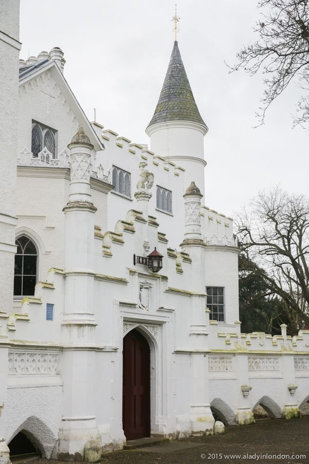 Strawberry Hill House is one of London's secret castles. A fanciful Gothic Revival building, it is amazing to see both inside and out. It's worth a visit on a trip to London!