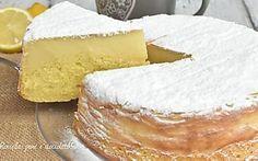 TORTA MAGICA al LIMONE e RICOTTA Cremosa e ALTA INFALLIBILE con QUESTA RICETTA