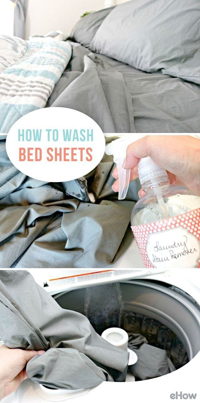 How To Wash Bed Sheets Bed Sheets Clean Bedroom Bed