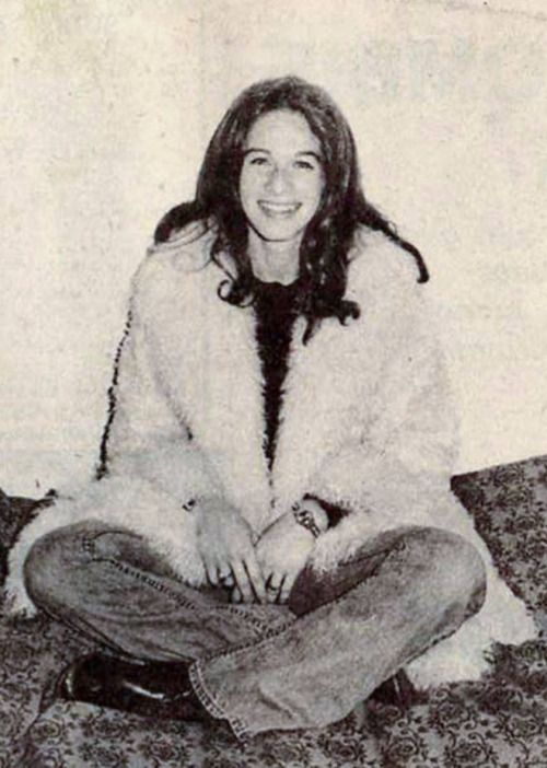 Carole King at the Hotel Chelsea, New York City, 1971.