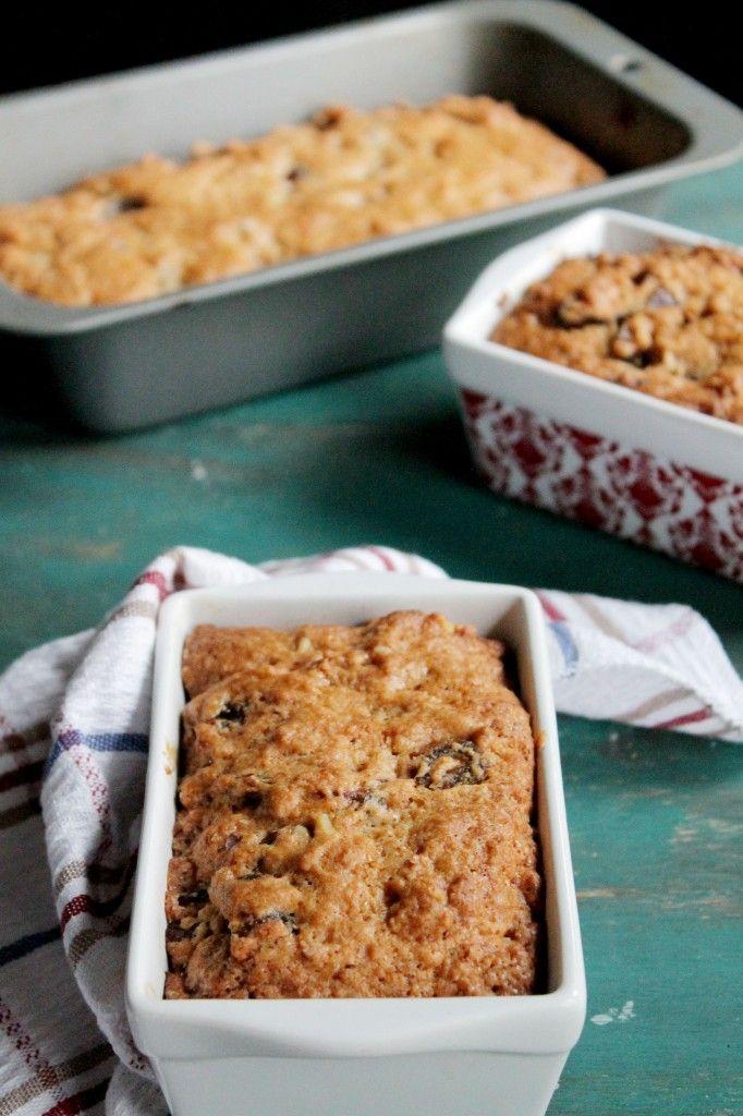 Orange, Date & Nut Loaf {Turte} | www.diethood.com | #recipe #bread