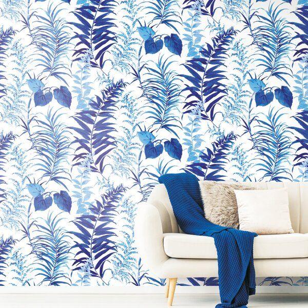 Jillian Fern Forest 10 L X 72 W Peel And Stick Wall Mural Peel And Stick Wallpaper Forest Wall Mural Wall Murals