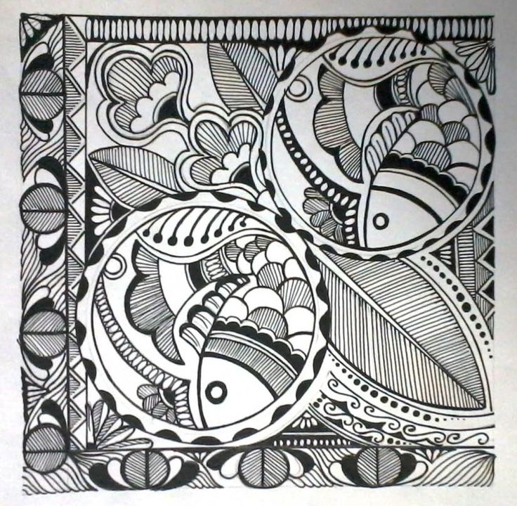 madhubani art - Painting by vidya rani in creation at touchtalent 28867