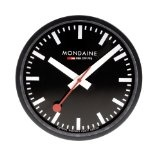 Mondaine Wall Clocks: The Official Swiss Railway Clock – Two Top Choices Below $200