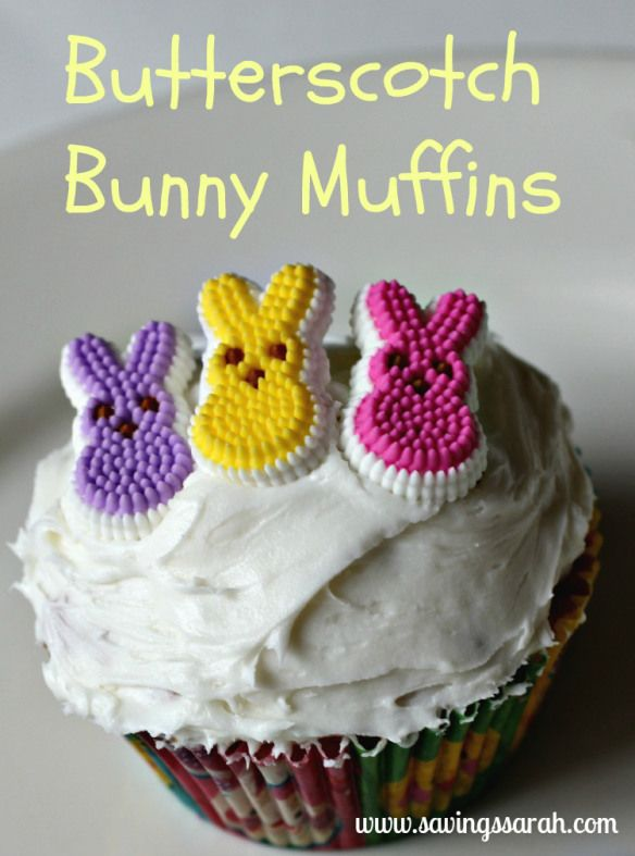 Butterscotch bunny muffins