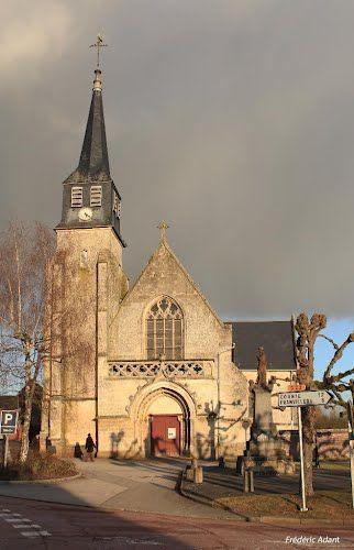 VadenCourt, France | EGLISE SAINT HILAIRE DE CONTAY