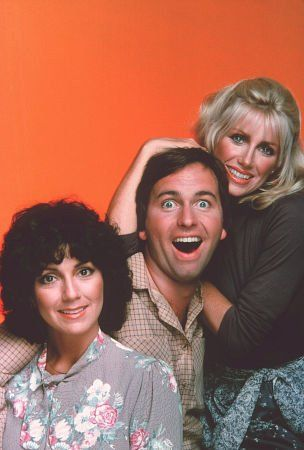John Ritter hamming it up in an intentionally warped and deranged looking promo shoot.