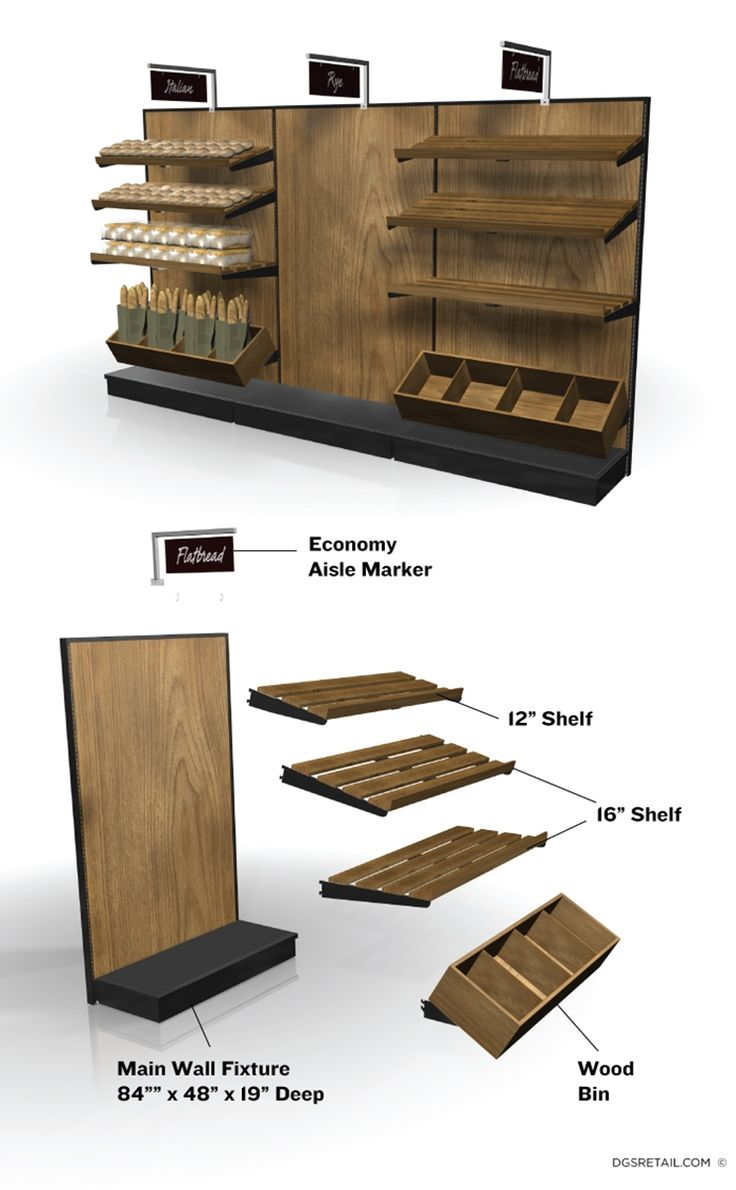 - Bakery Wall Display Kit #BAKERY WALL DISPLAY KIT