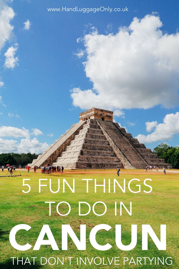 5 Fun Things To Do In Cancun, Mexico - Hand Luggage Only - Travel, Food &…