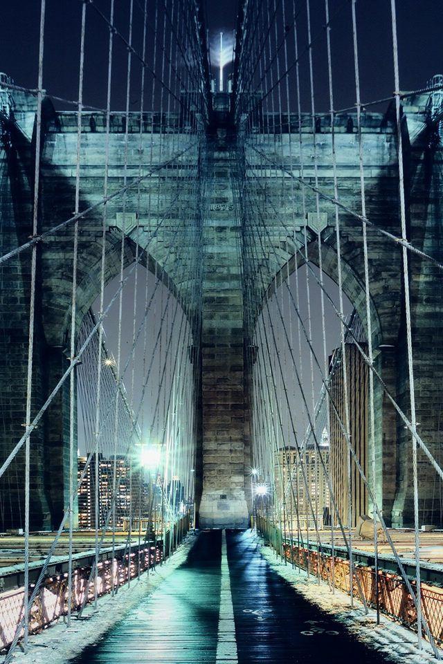 Brooklyn Bridge Walkway, NYC