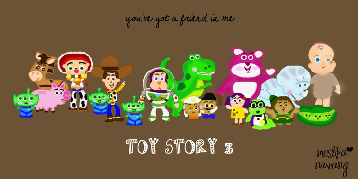 Toy Story 3 Poster Doodle