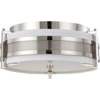Shop for Nuvo Lighting 60/4446 Diesel 3 Light Flush Mount Indoor Ceiling Fixture - 16 Inches Wide. Get free shipping at Overstock.com - Your Online Home Decor Outlet Store! Get 5% in rewards with Club O! - 19714692