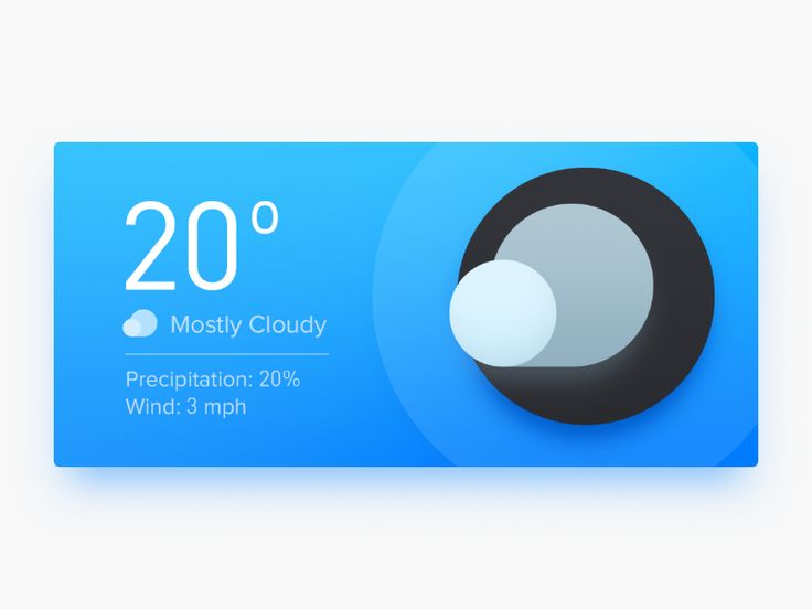 Weather Widget by Sandor