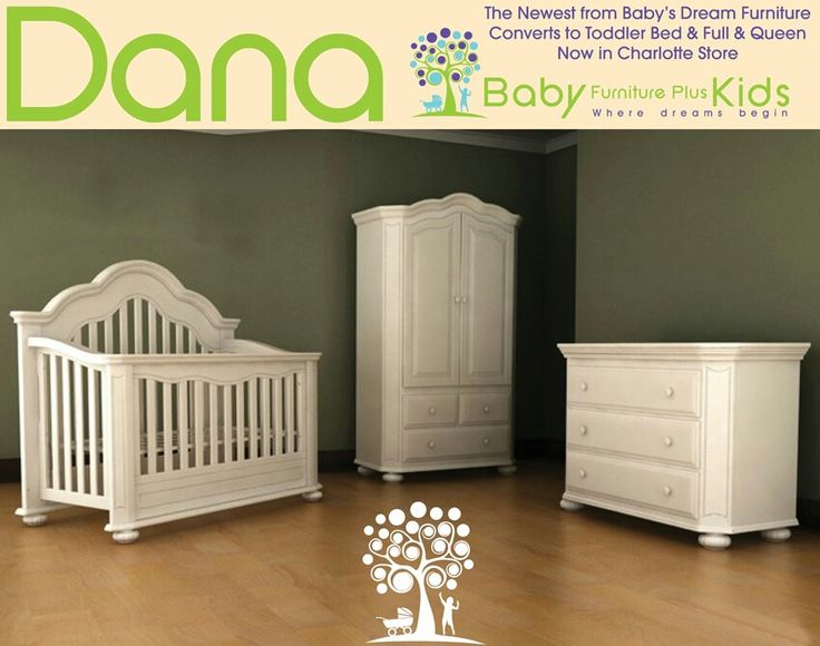 Baby Crib Converts To Toddler Queen, Baby Dreams Furniture
