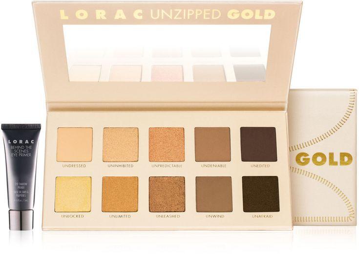 Lorac Unzipped GOLD Shimmer & Matte Eye Shadow Palette Ulta.com - Cosmetics, Fragrance, Salon and Beauty Gifts