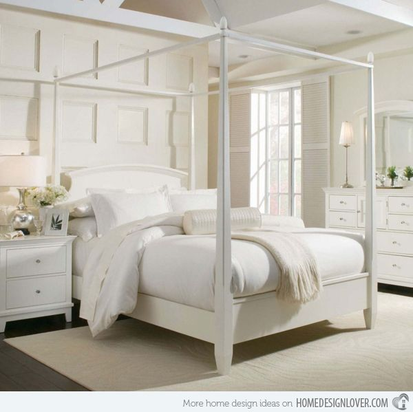 Beautiful Simple 4 Poster Bed Part - 3: 15 Simple Four Poster Canopy Beds