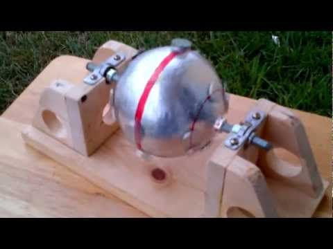 (FREE ENERGY PROJECT) Sphere Magnet Motor Generator Phase 1