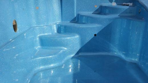 Intérieur piscine coque pas cher