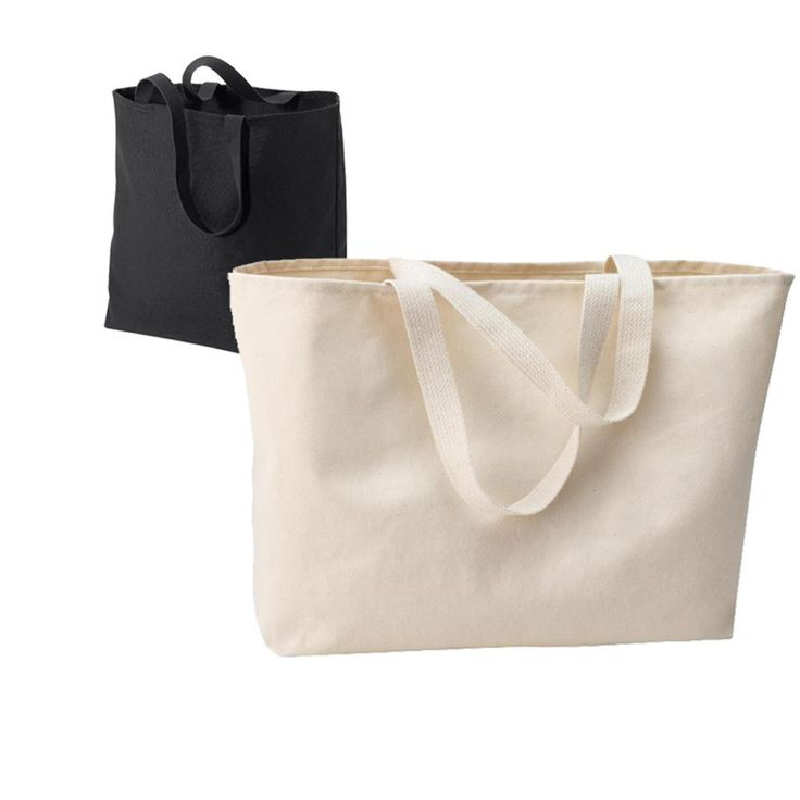 Oversized Jumbo 100% Cotton Tote Bag