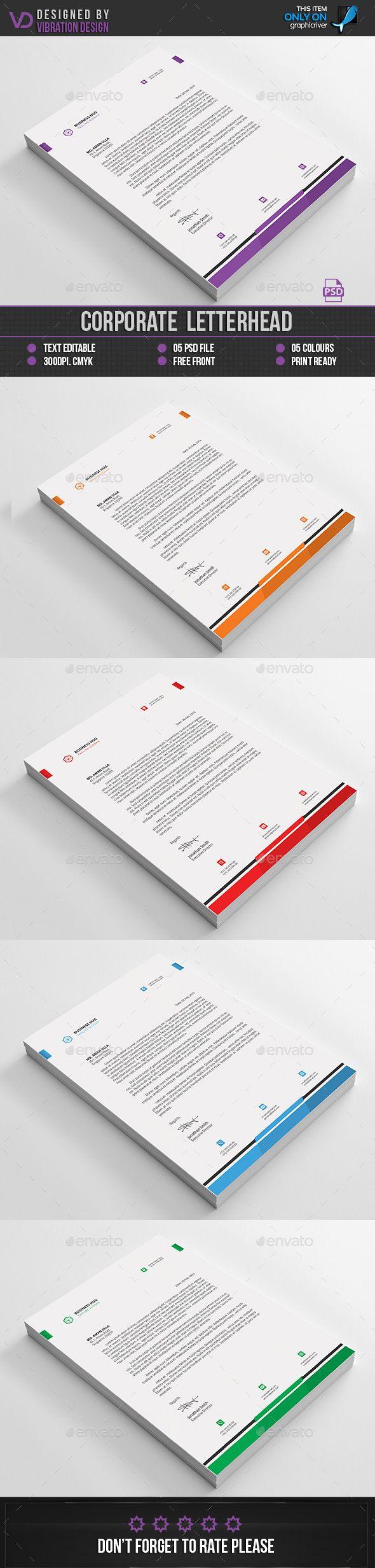 Buy Corporate Letterhead by kawsarnshimo on GraphicRiver