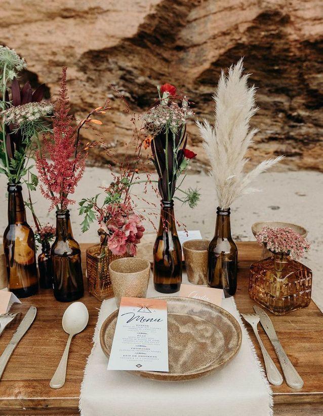 Wedding table 35 deco ideas in favor of this big day #this # wedding …  – Dekoration Tisch