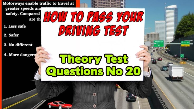 How to Pass Your Driving Test | UK Theory Test Questions | No 20 |Learn how to pass your #driving test #uktheorytest This video gives you an insight into what questions you can expect to get in your UK theory test exam. This video, (No 20) is part of a series that aim to help you learn your #highwaycode and get you through your #theorytest A video for #drivingtheoryrevision and #roadsigns test. #roadsignsuk Questions from the theory test UK 2017