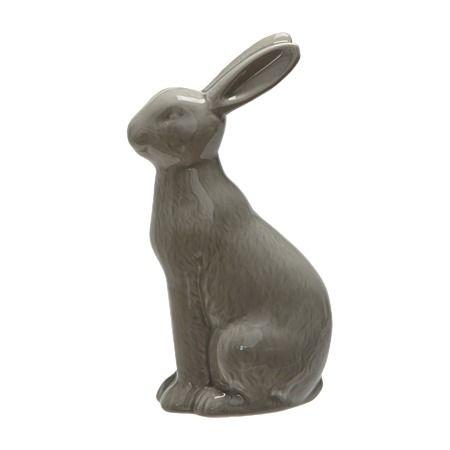 Rabbit Decor Grey 9cm x 4cm x 15.5cm - Giftware - Home Decor - Homewares - The Warehouse