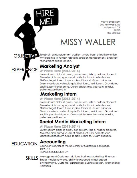 27 best Resumes images on Pinterest Resume templates, Career and - easy cover letter