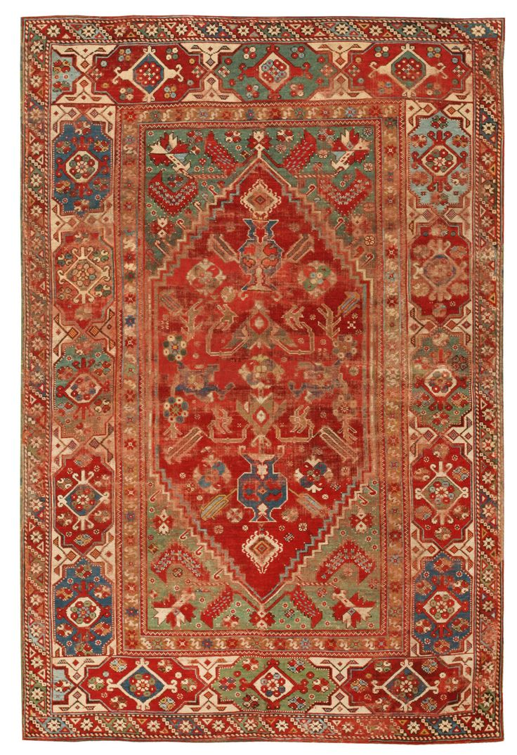 Antique 17th Century Transylvanian Rug 44633 Detail Large View By Nazmiyal