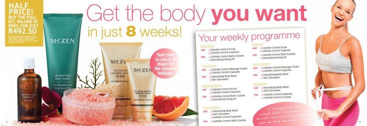 Get the body you want in just 8 weeks