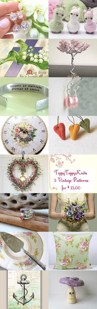 Spring whish list by Csilla Molnar on Etsy--Pinned with TreasuryPin.com