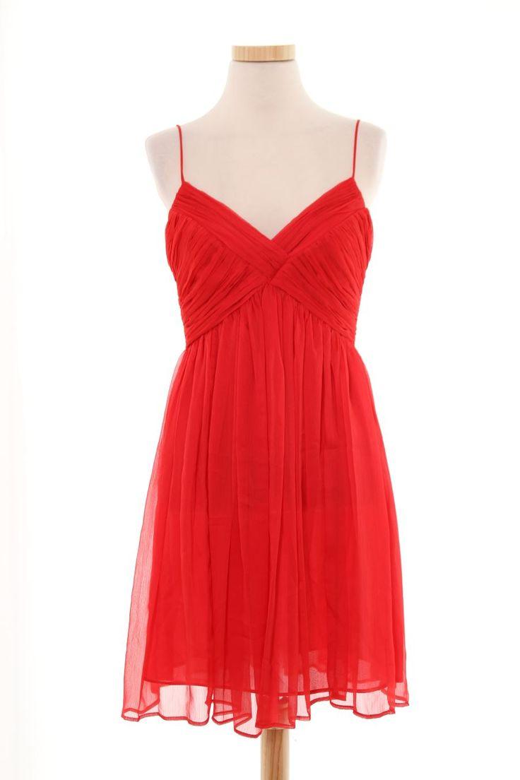 Robe de Mango de la taille S, de couleur rouge