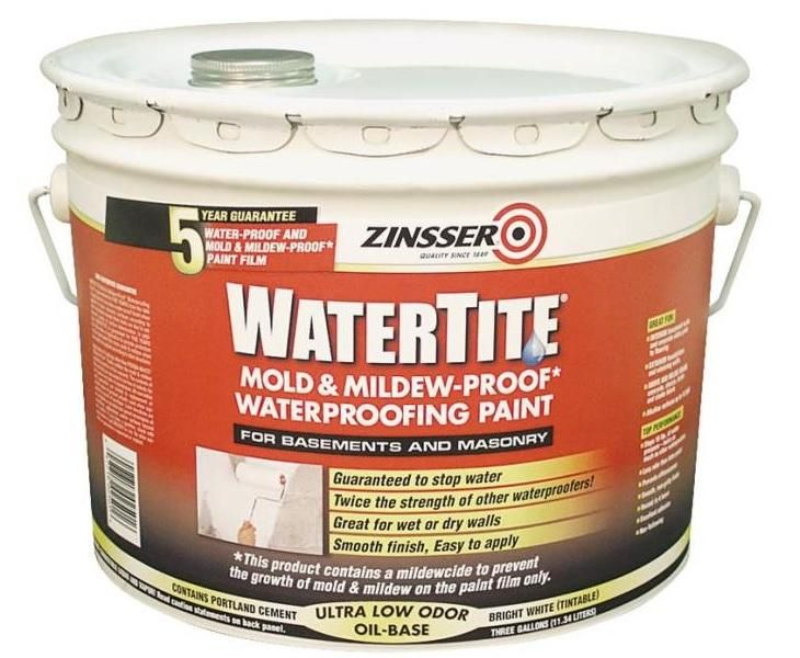 Unique Basement and Masonry Waterproofing Paint