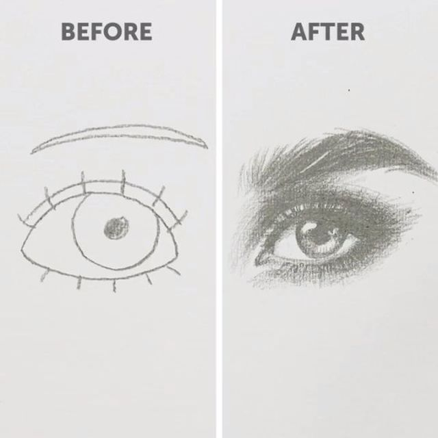 """5-Minute Crafts on Instagram: """"How to draw (for beginners). Part Four. #5minut…"""