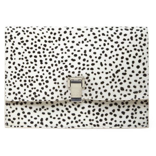 Proenza Schouler Small Lunch Bag Clutch found on Polyvore