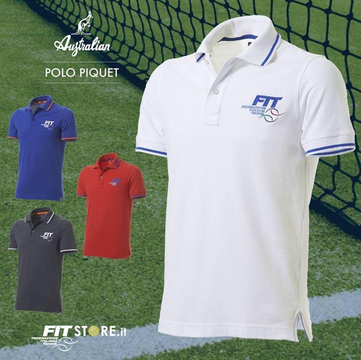 Bianche, Blu, Rosse o Grigie. Le nostre #Polo Piquet della linea #FIT sono le compagne perfette per gli allenamenti sul campo da #tennis o nei momenti di relax. Scoprile nello store. #abbigliamento #sport #sportwear