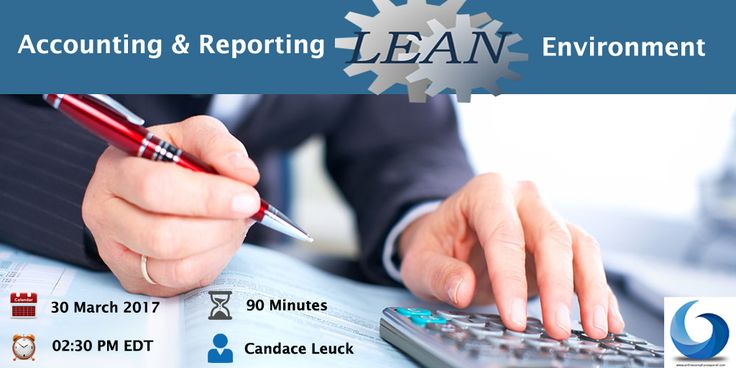 "Webinar On ""Accounting and Reporting to Management on a Lean Basis"". Click on this image for more info and registration."