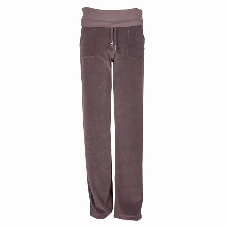 Maternity Pants in Velour