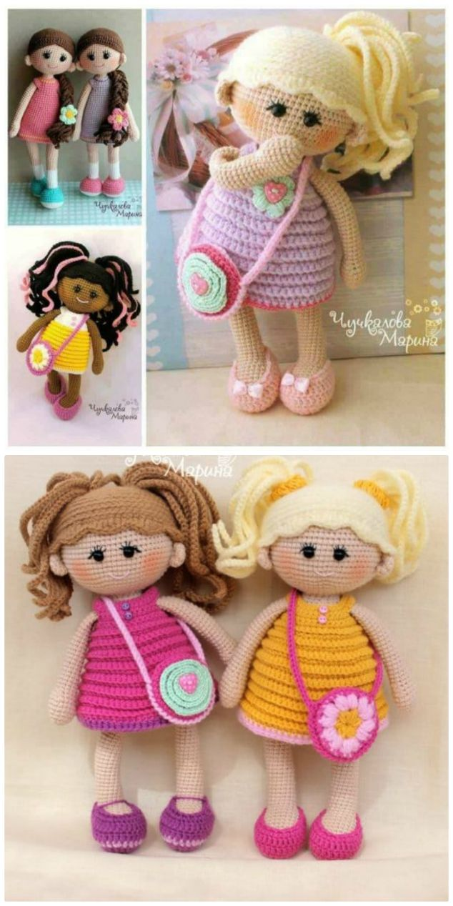 You'll Love These Adorable Crochet Dolls Patterns