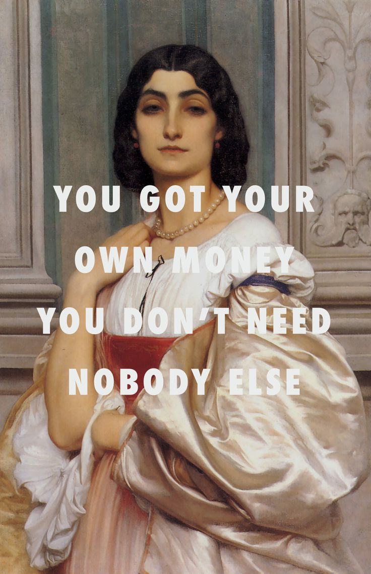 But far as handlin' all that ass, I think you gon' need some help A Roman Lady (1858), Frederic Leighton / Drunk In Love (Remix), Beyoncé ft. JAY-Z & Kanye West | @bingbangnyc