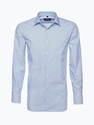 €15 Andrew James Herren Hemd Bügelfrei - Hier überzeugt Andrew James mit einem Business-Hemd aus bügelfreier Baumwolle.